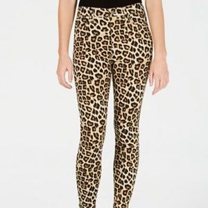 Celebrity Pink Juniors' Cheetah-Print Skinny Ankle